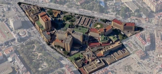 Antiguo complejo hospitalario de La Fe en Campanar