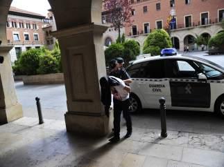 El posible responsable de la muerte del ciclista de Cella llega a los juzgados