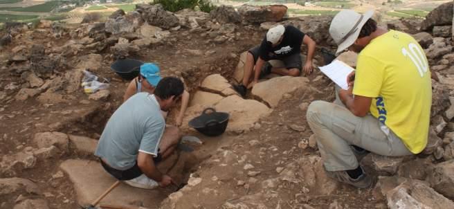 Excavaciones Museu Prehistòria