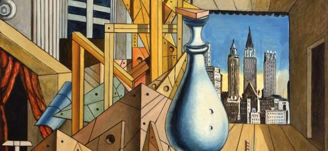 Visión metafísica de Nueva York, 1975