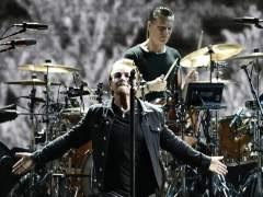 U2 pone su 'Joshua Tree' en el cielo de Barcelona