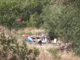 Asentamiento ilegal en Chamartín