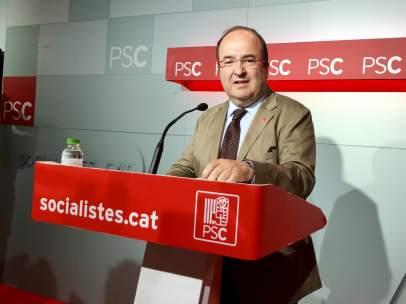 El secretario general del PSC, Miquel Iceta