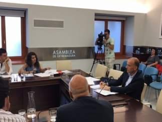 Manuel Mejías comparece en la comisión de Agricultura de la Asamblea