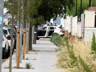 Calle de Gavà donde se produjo el tiroteo contra dos policías locales