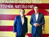 Mariano Rajoy con Xavier García Albiol