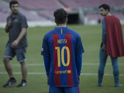 Superlópez: Dani Rovira se cuela en el Camp Nou