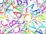 Letras de un abecedario