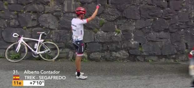 Contador se queda sin fuerzas en el Galibier para completar su fuga en la etapa reina del Tour