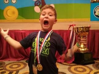 """Nacho Bravo, 8 años, campeón mundial de cálculo mental: """"Quiero seguir superándome"""""""