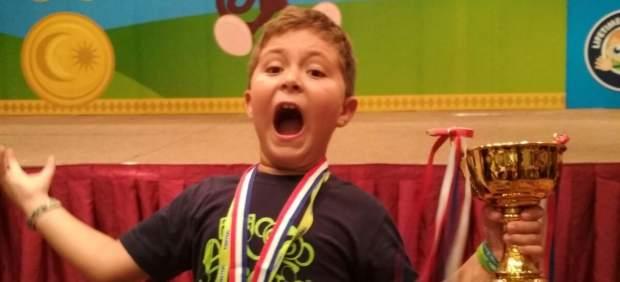 Nacho Bravo, 8 años, campeón mundial de cálculo mental: