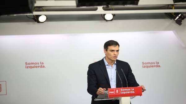 """Pedro Sánchez """"estudia"""" assistir al Congrés del PSPV i dependrà de l'agenda política"""