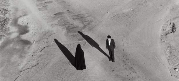 Serie «Fervor» (Couple at Intersection), 2000 (fragmento de la obra)
