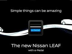 El pedal del freno casi desaparecerá en el Nissan Leaf