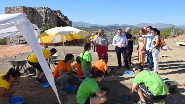 Málaga campo de trabajo archidona arqueología