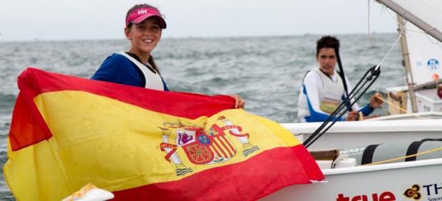 La regatista española María Perelló, nueva campeona del mundo de Optimist