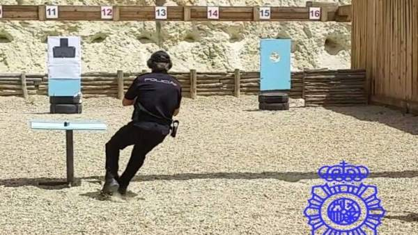 Campeonato de tiro de la Policía