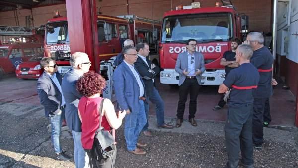 Gallardo visita Don Benito