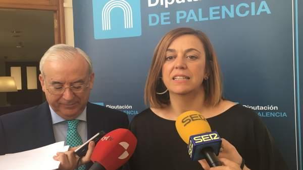 Palencia.- Encabo y Armisén comparecen ante los medios