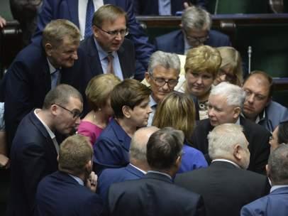 Parlamento Polonia.