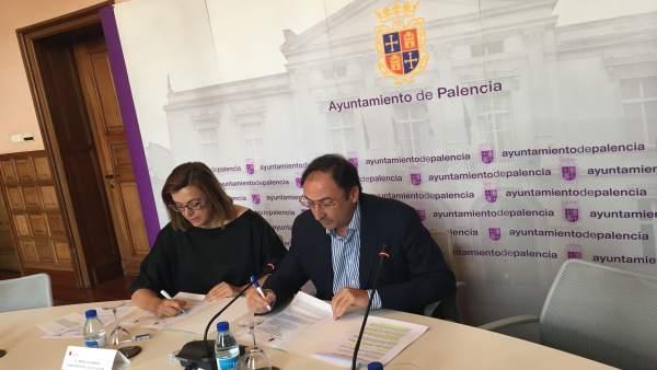 Palencia: Armisén (I) y Polanco (D)