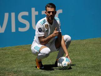 Ceballos ya viste la camiseta del Madrid