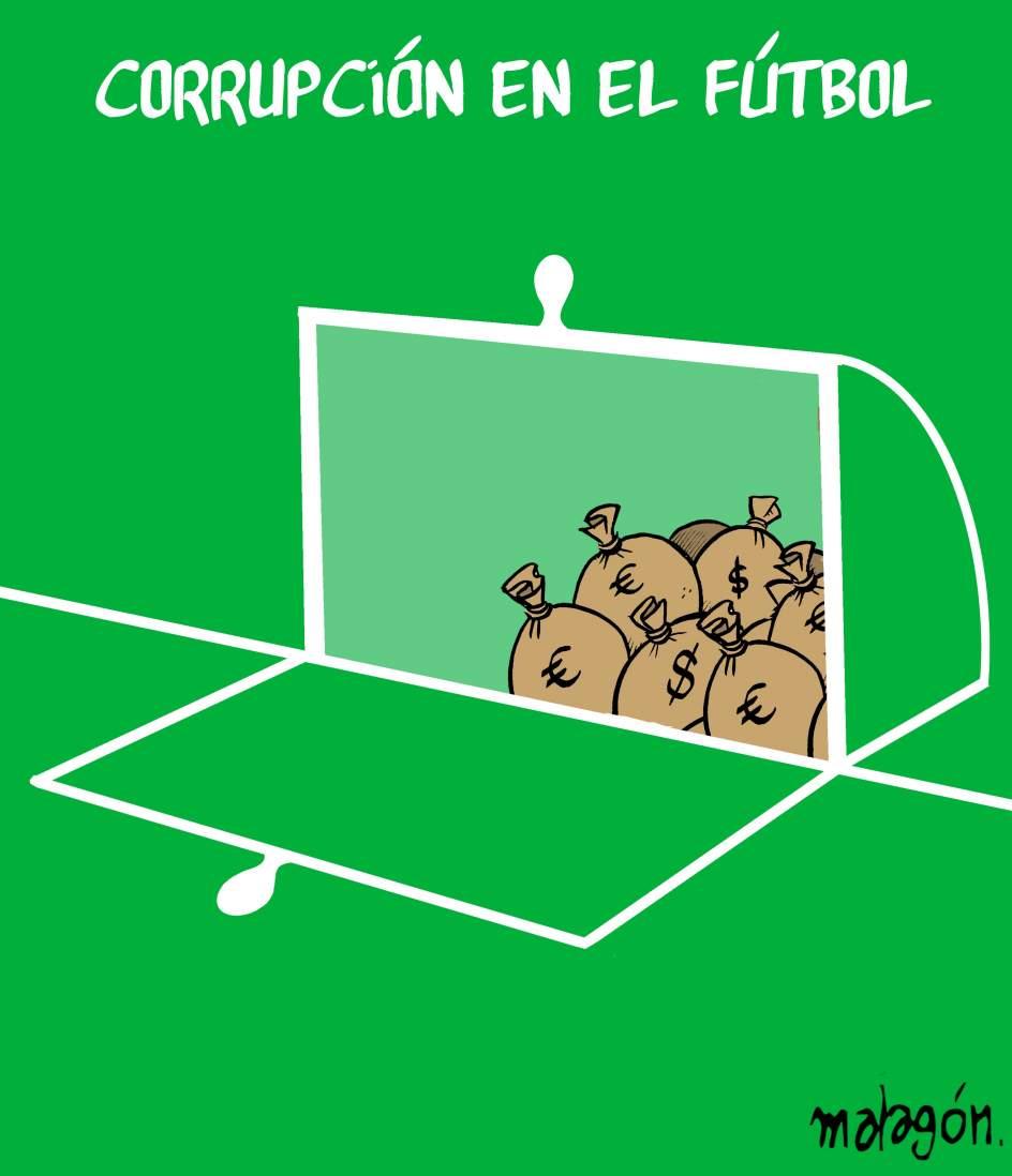Corrupción en el fútbol - MALAGÓN