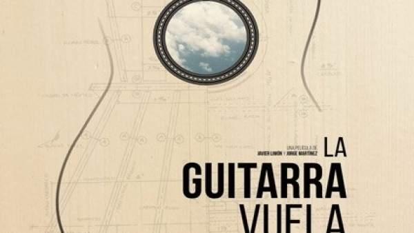 Cartel La guitarra vuela Paco de Lucía