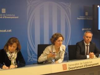 María Jesús Mier, número dos de Educación, dimite antes del referéndum del 1-0