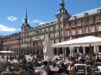 Terraza en Plaza Mayor (Madrid)