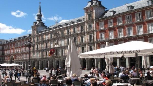 Terraza en Plaza Mayor (Madrid)