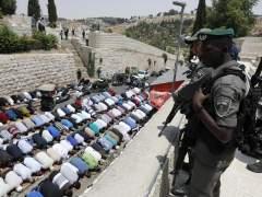 Israel limita la entrada a la Explanada de las Mezquitas