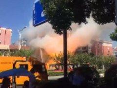 Al menos 2 muertos y 55 heridos al explotar una tienda en China