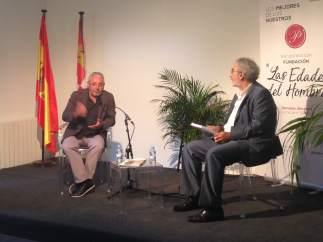 Segovia.- Gonzalo Jiménez, en el encuentro 'Los mejores de los nuestros'