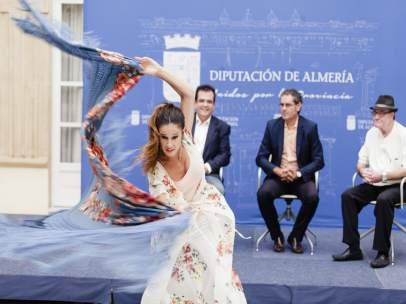 Rocío Garrido es una de las jóvenes promesas del baile en Almería.
