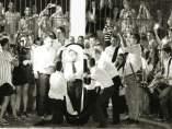 Imagen de archivo del entierro de Mogón