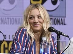 Cuoco acabó en el hospital por una broma en 'The big Bang Theory'