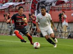 El Sevilla cierra su gira en Japón con una derrota ante el Kashima