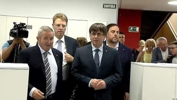 Puigdemont estalla contra el control del Gobierno