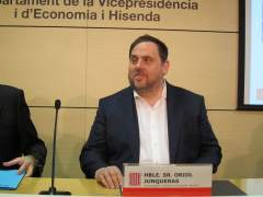 El vicepresidente Oriol Junqueras
