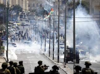 Disturbios en Cisjordania