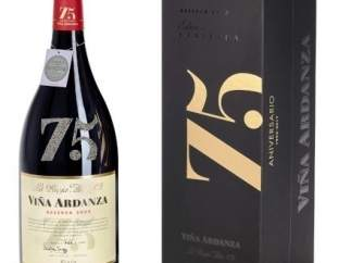 Imagen del vino del 75 aniversario