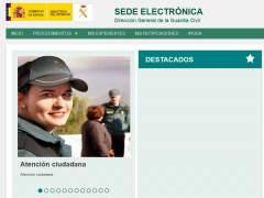 La Guardia Civil lanza una nueva sede electrónica