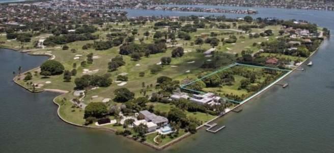 Isla de Indian Creek, en Miami