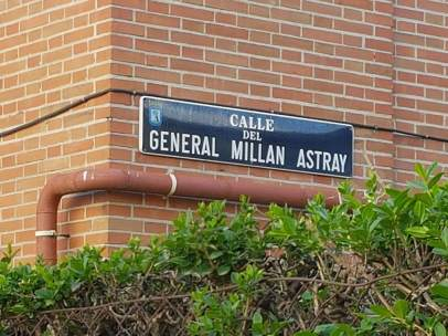 Calle Millán Astray