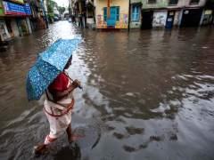 Tres muertos y 200.000 afectados por las inundaciones al oeste de India