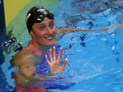 Belmonte, medalla de plata en los 1.500 metros de los Mundiales de natación