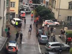 Cinco personas heridas en un ataque con una motosierra en Suiza