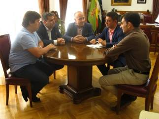Reunión con el Jaén Paraíso Interior Fútbol Sala