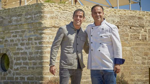 Joaquim Clos y Ángel León.